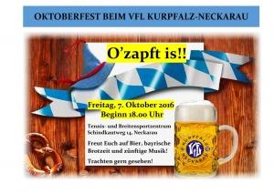Oktoberfest beim VfL Kurpfalz